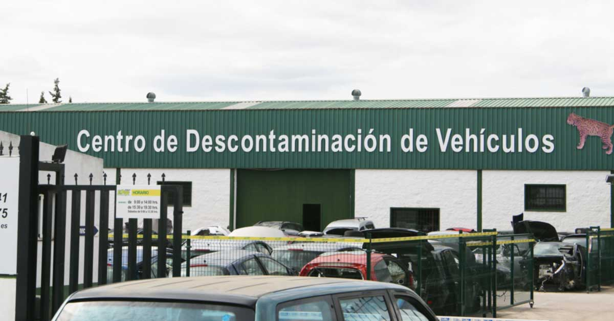 Centro de Descontaminación de Vehículos en Pilas
